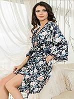 "Короткий халат  ""Emilia"""