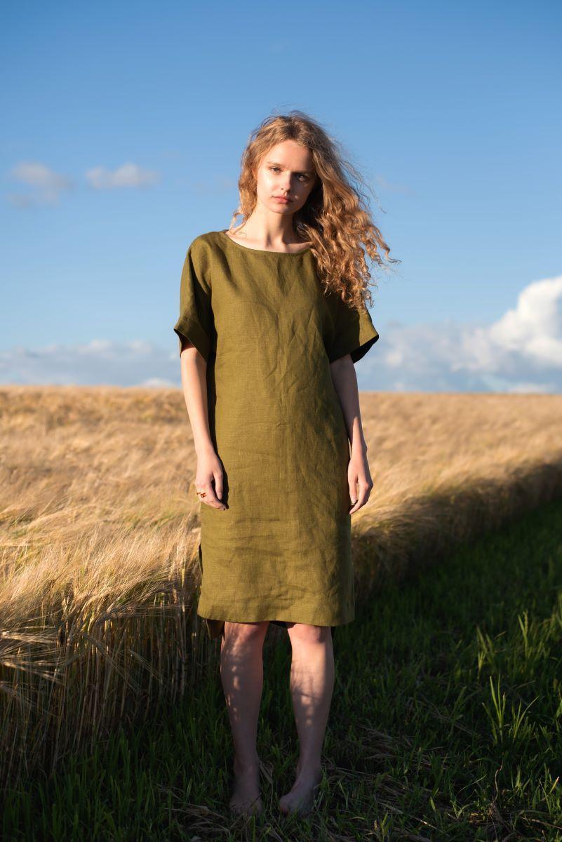009 сукня Khaki Silence (M) #N/A