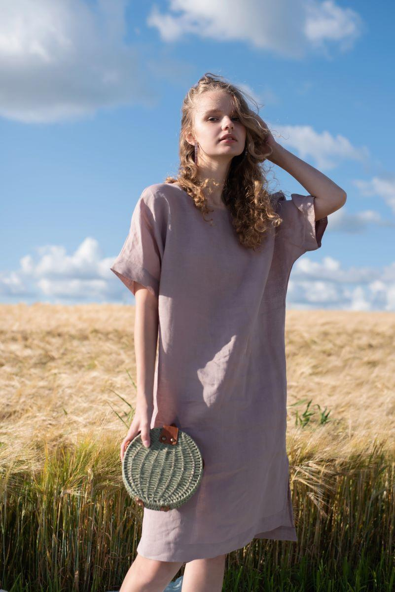 009 сукня Lavender Silence (XL) #N/A