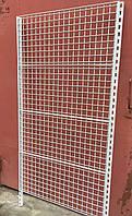Акция! Стеллаж настенный с рейками и сетчатыми панелями WIKO в отличном состоянии