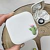Белый кейс для контактных линз, фото 4