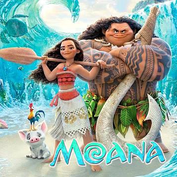 """Моана"" - Наліпка Герої 11,5*7,5 см."
