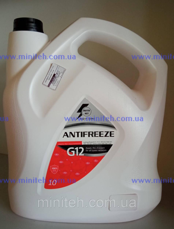 Антифриз AUTOHIT G12 -40 (червоний) 5 кг