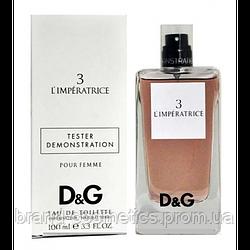 Dolce & Gabbana 3 L`IMPERATRICE 100мл TESTER женский
