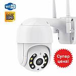 Камера видеонаблюдения наружная IP Wi-Fi PTZ камера Adna Cam-QC2, умная Wi-Fi камера поворотная для улицы, фото 2