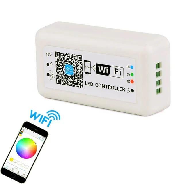 Контроллер rgb wifi 12А 144вт для светодиодной ленты
