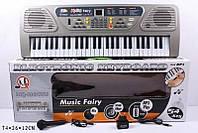 Детский Синтезатор Пианино Орган MQ-806USB от сети,микрофон