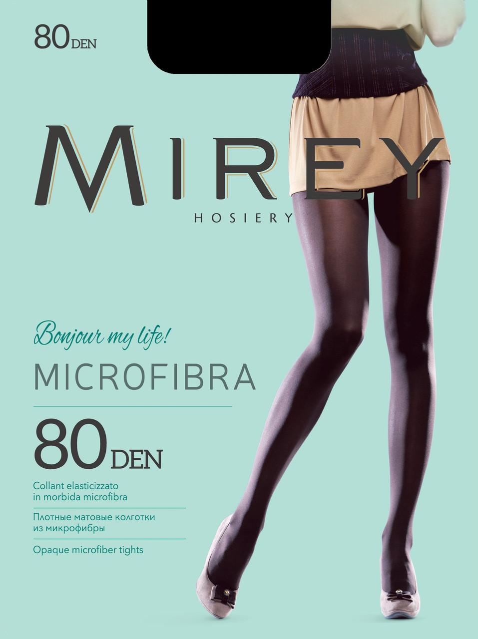Microfibra 80 den колготи Nero Mirey (2-S) #N/A