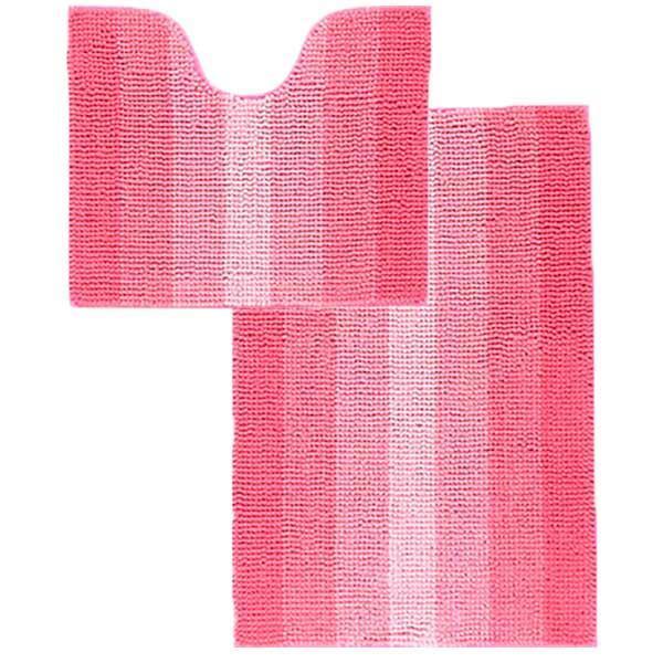 Набор ковриков в ванную Махрамат Dariana 5162 розовый