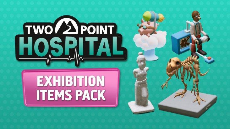 Two Point Hospital: Exhibition Items Pack ключ активации ПК