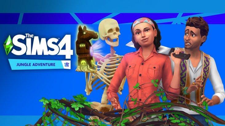 The Sims 4: Jungle Adventure ключ активации ПК