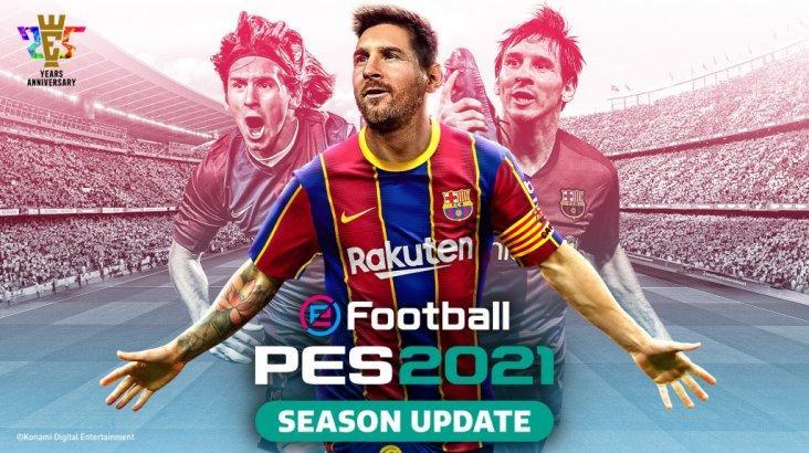 EFootball PES 2021 SEASON UPDATE FC BARCELONA EDITION ключ активации ПК