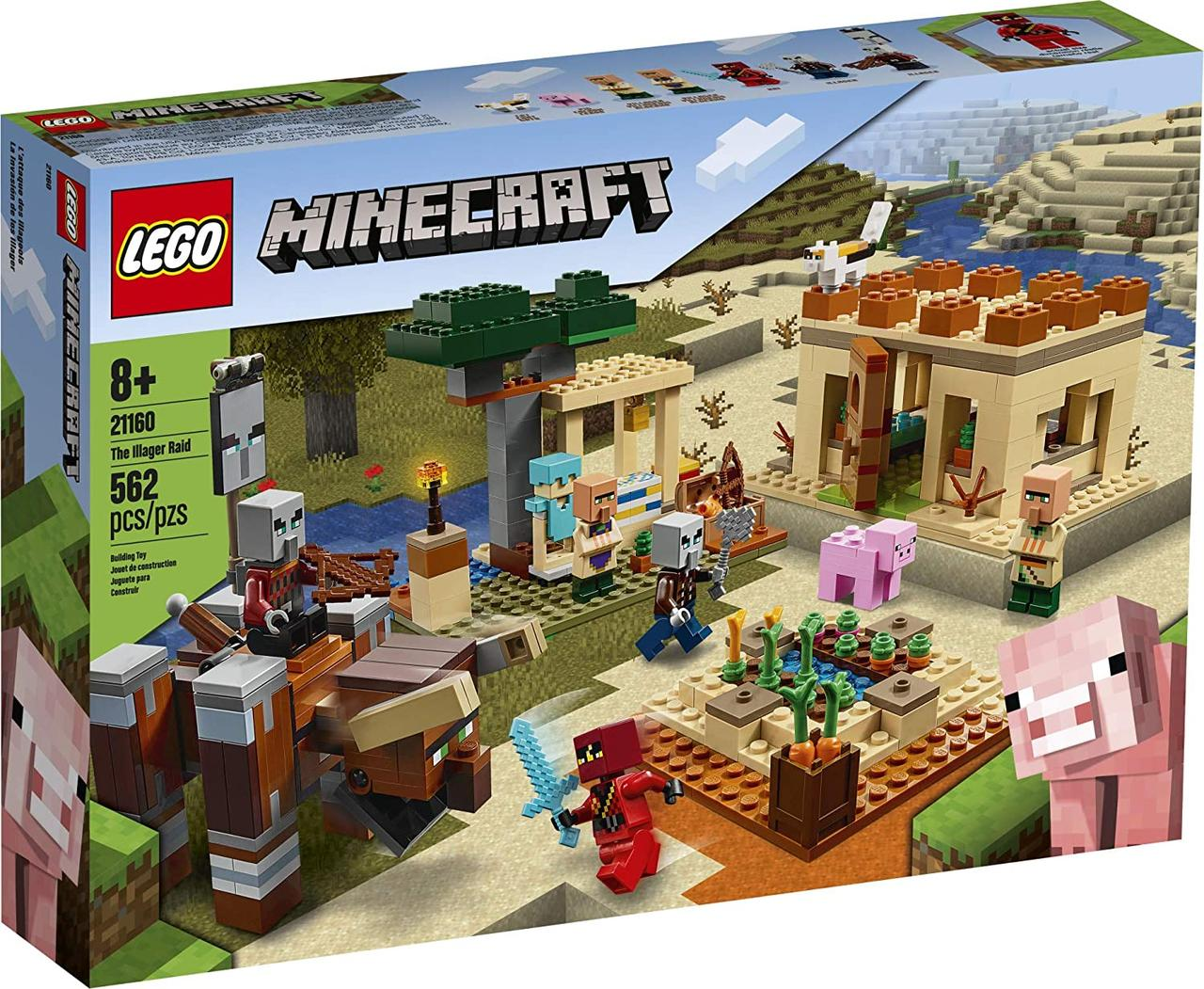 Конструктор LEGO Minecraft Патруль разбойников (21160) LEGO Minecraft The Illager Raid