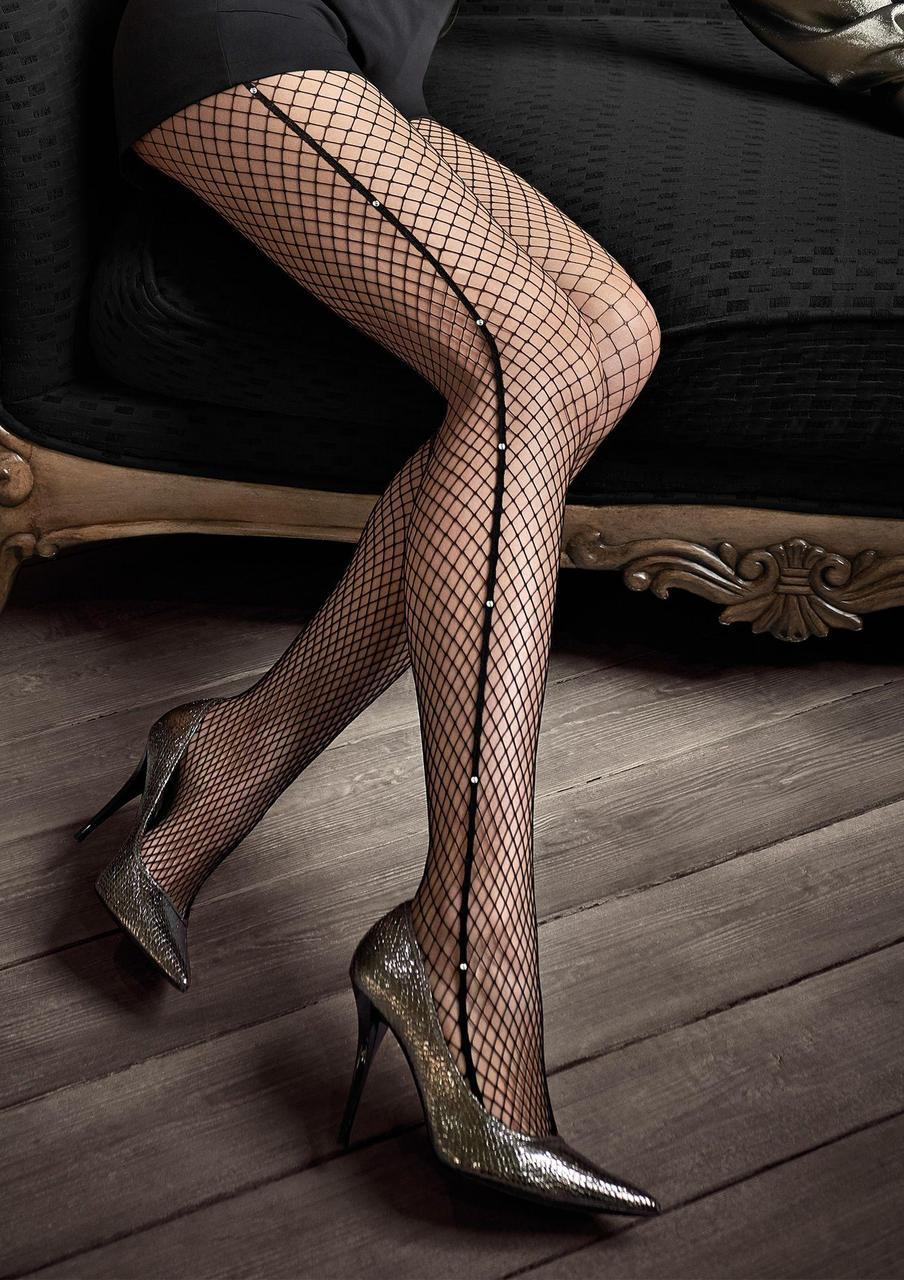 Gucci G46 колготи сітка Nero Marilyn (1/2) #N/A