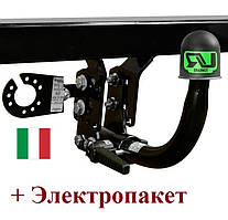 Фаркоп быстросьемный горизонтальный на Jeep Grand Cherokee (c 2011 --) Umbra Rimorchi (Италия)