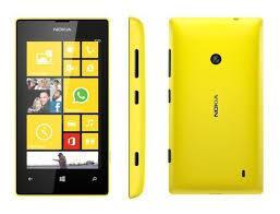 Телефон Nokia Lumia 520 Yellow