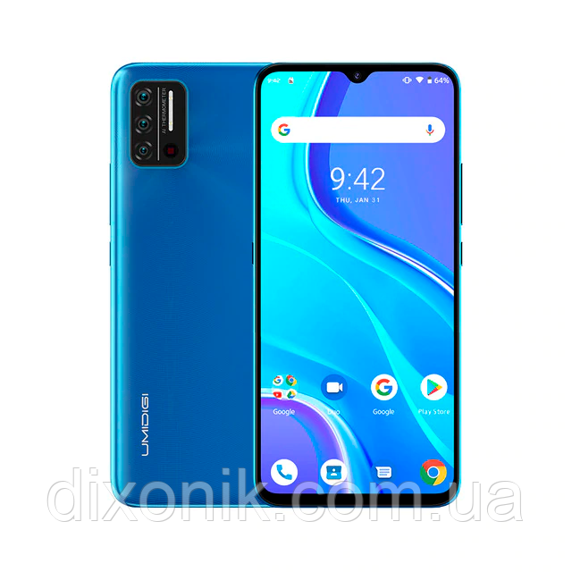 Смартфон Umidigi A7S 2/32Gb blue