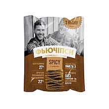 Фьючіпси лляні сушені, Spicy, 50г