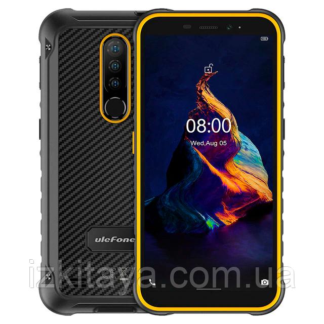Смартфон UleFone Armor X8 orange 4/64 Гб IP68 NFC батарея 5080 mAh