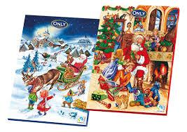 Адвент календарь шоколадный Новогодний Only, 75г