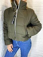 Куртка-пуховик коротка SRT хакі M-XL