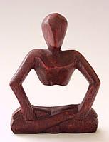 Оригинальная статуэтка из дерева суар.