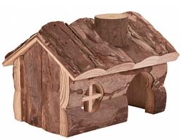 Trixie TX-6171 деревянный домик для грызунов 14,5х9х11,5см