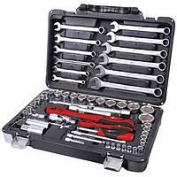 Профессиональный набор инструментов 61 ед., Intertool, фото 1