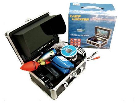 Подводная видео камера CARPCRUISER CC7-iR/W15-S с солнцезащитным козырьком для рыбалки, фото 2