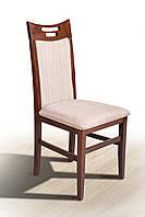 Стілець обідній дерев'яний Микс мебель Юля темний горіх