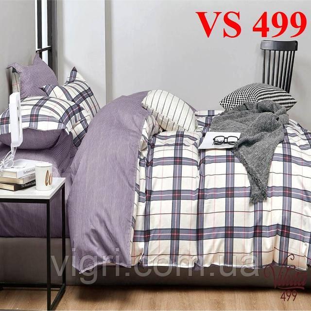 Постельное белье, семейный комплект, сатин, Вилюта «Viluta» VS 499