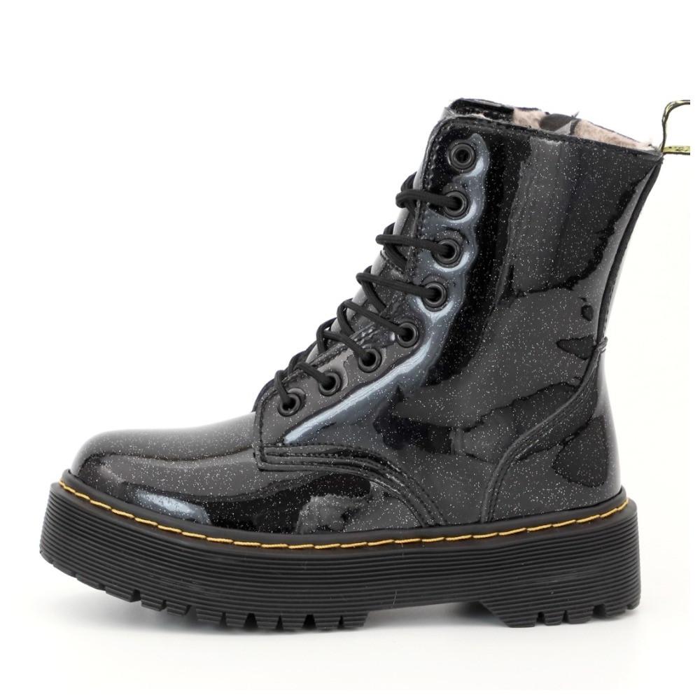 Женские зимние ботинки Dr. Martens Jadon Galaxy fur мартенс жіночі зимові черевики Dr Martens ботінки мартінс