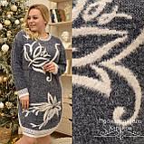 Мягкое, теплое платье  размеры: универсальный 52-58, фото 3