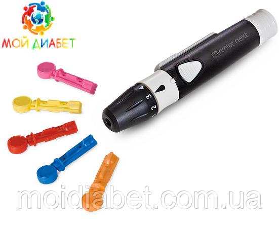 Ланцетная ручка устройство для прокола Microlet Next