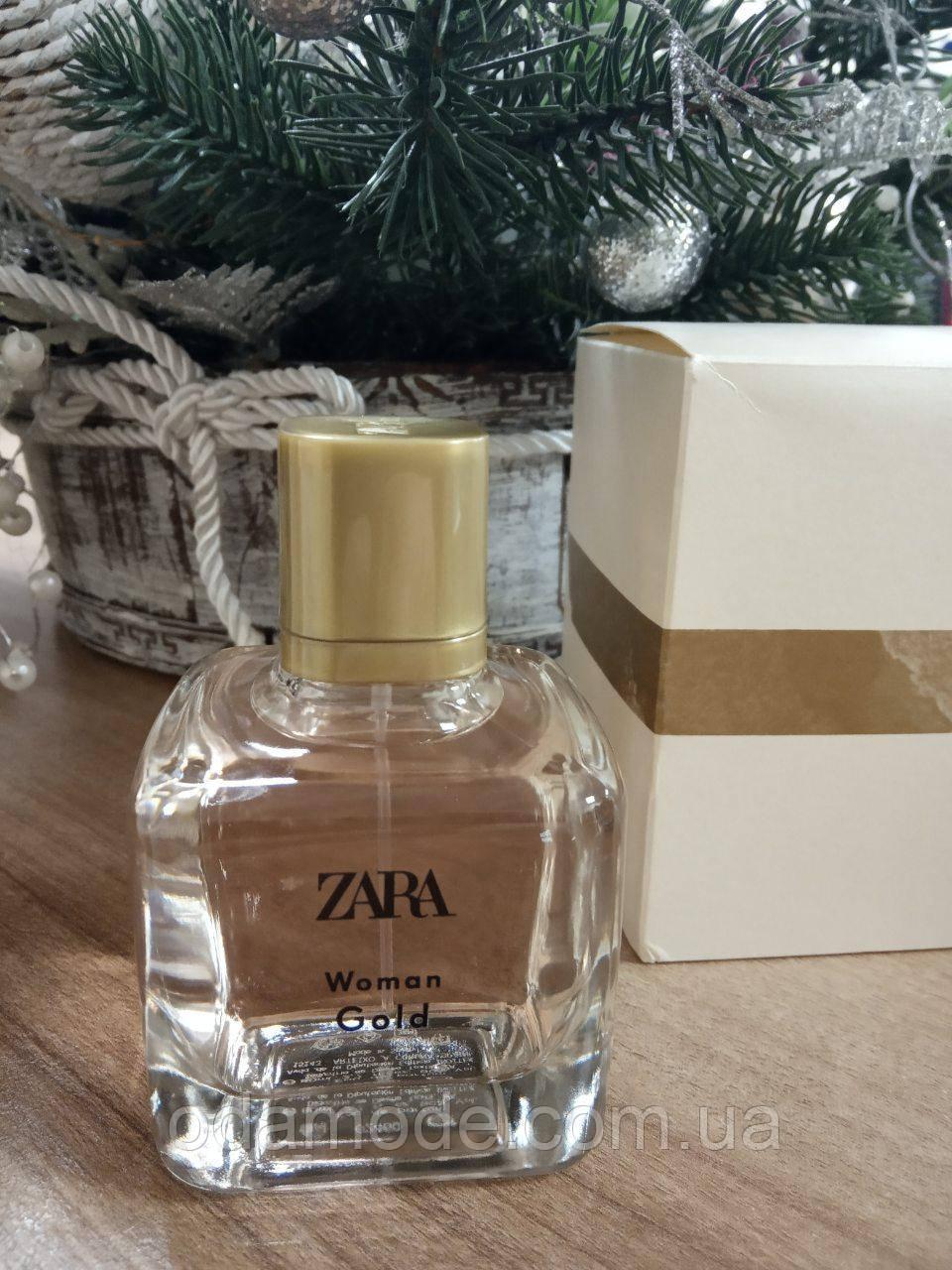 Жіночі парфуми Woman Gold ZARA 100ml