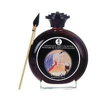 Краска для тела Shunga BODYPAINTING - Aphrodisiac chocolate (100 мл) без глютена и парабенов