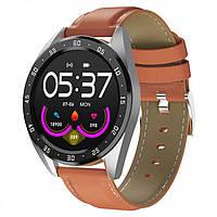 Смарт-часы Smart Watch 60 brown leather