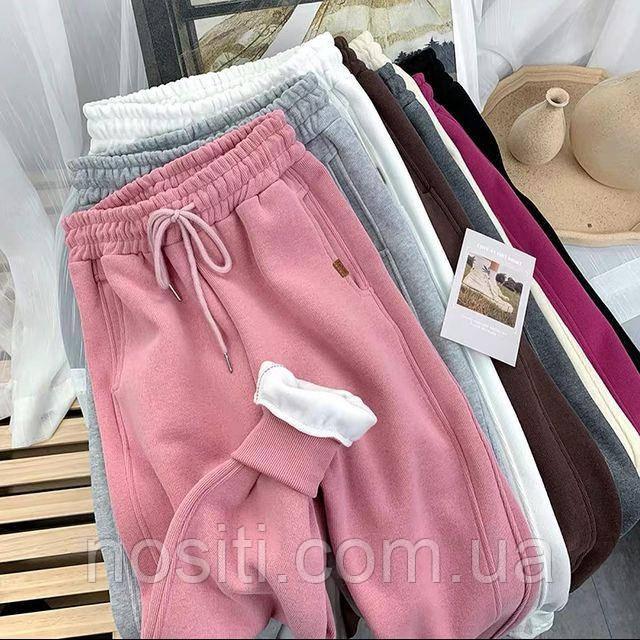 Женские зимние штаны на флисе