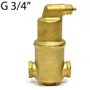 "Сепаратор воздуха Spirotech Vent  3/4"", 180°C - 10 Бар (латунь)"