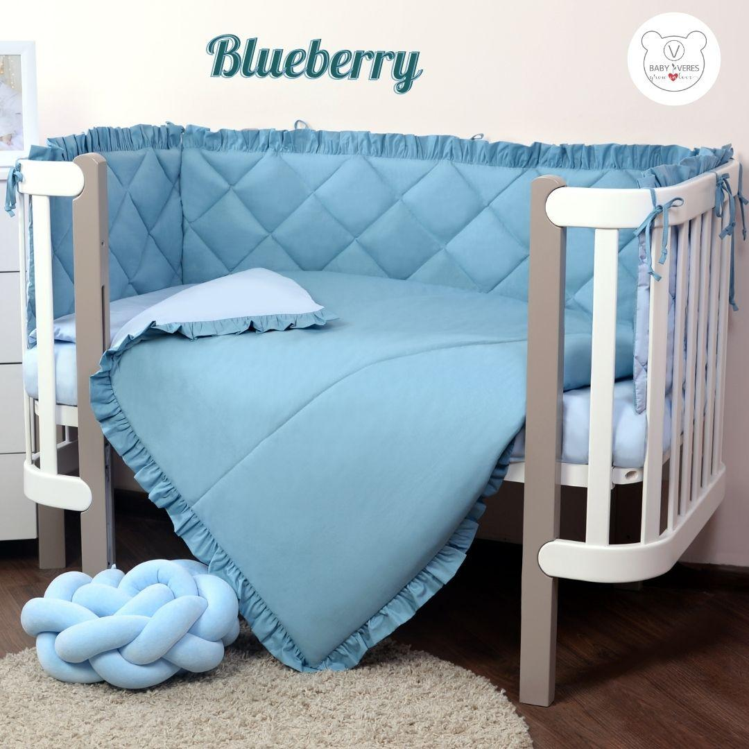 Macaroon Blueberry Baby Veres  постельный комплект для новорожденных