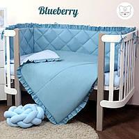 Macaroon Blueberry Baby Veres  постельный комплект для новорожденных, фото 1