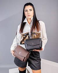 Женская сумочка-клатч натуральная кожа