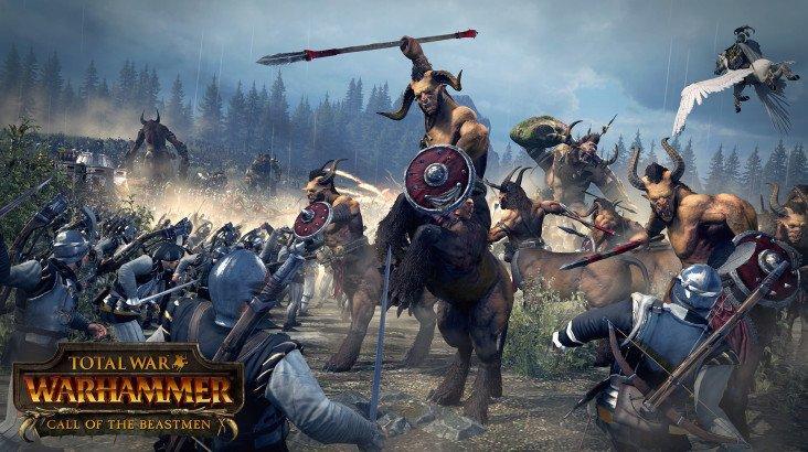 Total War : Warhammer - Call of The Beastmen DLC ключ активації ПК