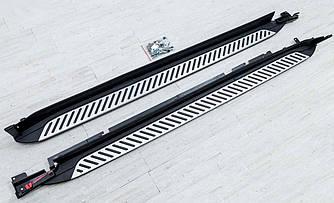 Подножки BMW X4 G02 пороги площадки