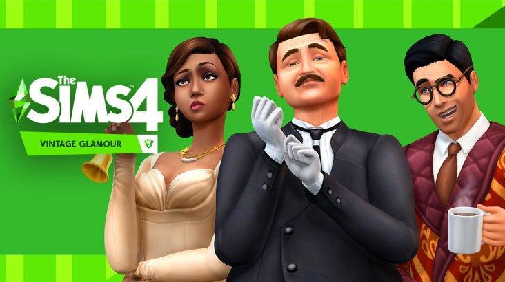 The Sims 4: Vintage Glamour Stuff ключ активации ПК