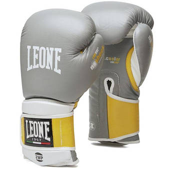 Боксерские перчатки Leone Tecnico Grey