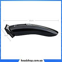 Профессиональная машинка для стрижки Kemei KM 600 11 в 1 - Беспроводная машинка, триммер для волос, бритва, фото 3