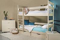 Кровать двухъярусная Ясна 90х200 без ящиков