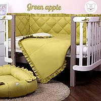Macaroon Green apple Baby Veres  постельный комплект для новорожденных, фото 1