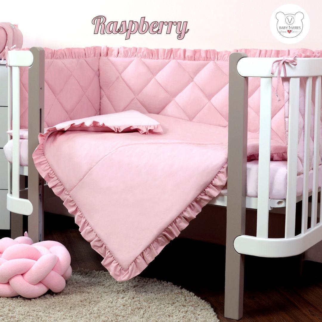Macaroon Raspberry Baby Veres  постельный комплект для новорожденных
